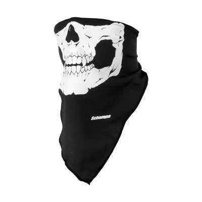 Mask Schampa Face (Schampa Traditional Skull Stretch Facemask,)