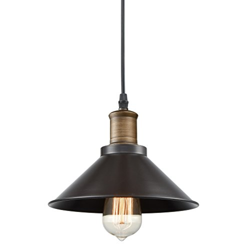 Ecopower Industrial Edison Mini Metal Pendant Light 1 Light