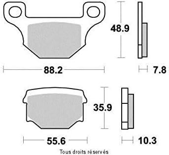 Plaquette de frein Kyoto Moto Rieju 50 RS3 2011-2012 AR Neuf