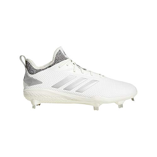 new product 79af4 e4fa4 adidas Men s Adizero Afterburner V Baseball Shoe, Cloud White Grey, 10 M US