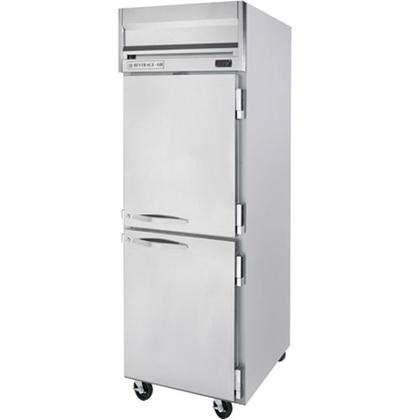 Beverage-Air HRP1-1HS Horizon Series One Section Solid Half Door Reach-In Refrigerator 24 cu.ft. capacity Stainless Steel Front and Sides Aluminum by Horizon Series
