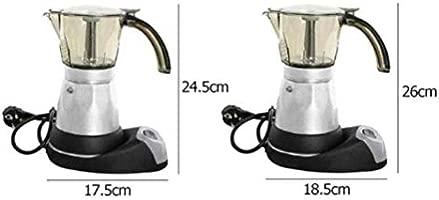 LCLZ Práctico Cafetera Eléctrica Espresso De Acero ...
