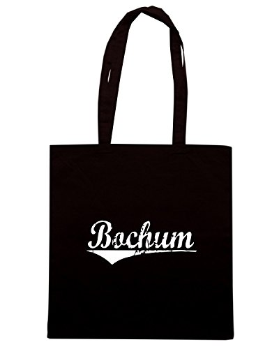 T-Shirtshock - Bolsa para la compra TSTEM0143 bochum vintage Negro