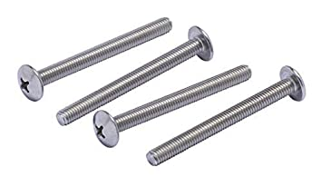 by Bolt Dropper 50pc #10-32 X 1 Stainless Phillips Truss Head Machine Screw, Fine Thread 304 Stainless Steel 18-8