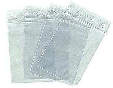 aux normes europ/éennes de production plastique Lot 100 sachets /à fermeture zip format 40 x 60 mm 4 x 6 cm pochettes qualit/é alimentaire 50 microns pr/él/èvement