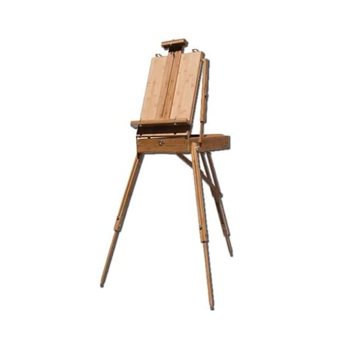 Image of Arts & Crafts Supplies Sonoma Bamboo Sketchbox Easel