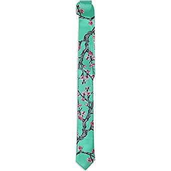 Corbata de seda de Cherry Blossom Collage Polyester Neckwear ...