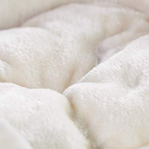 YUMUO Deux Couches de Lin écologique Confort Naturel Plateforme Matelas rembourré de sécurité d'hiver Doux, Confortable et Chaud