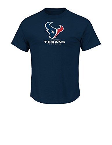 NFL Houston Texans Men's UP4 Tee, Navy, Large – DiZiSports Store