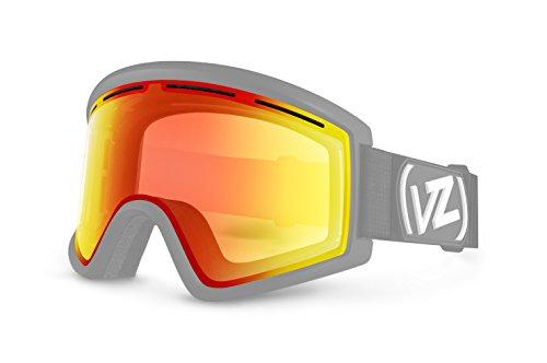VonZipper Cleaver Lens, Clear Chrome (Orange Chrome Lens)