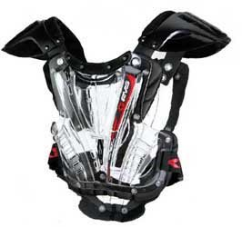 EVS Vex Chest Protector (LARGE) (CLEAR/BLACK)