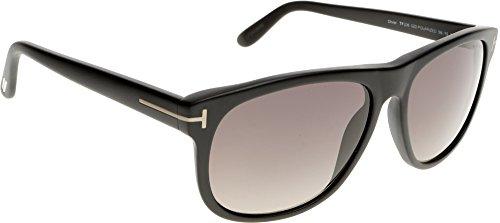 Tom Ford 0236/S 02D Matte Black Olivier Square Sunglasses Polarised Lens Catego (Tom Ford Sonnenbrillen Damen Sale)