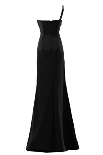 per Gowns da elegante spalla da abito donna sera una abiti da Pageant Sunvary sera Black Fq78UxSw