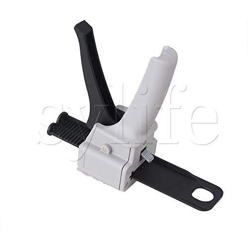 Maslin PBT Plastic 37ml 2:1 Dispensing Gun Manual Operation for AB Glue Dual Cartridge ()