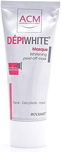 Wockhardt Depiwhite Masque, Whitening Peel-Off Mask For Face And Hand 40 ml
