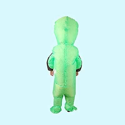 QSEFT Disfraz De Halloween Traje Inflable Alien Poliéster ...