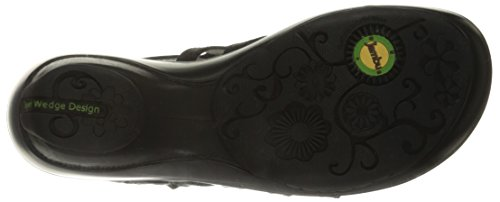 Jambu Women's Brookline Wedge Pump, Black, 9.5 M US by Jambu (Image #3)