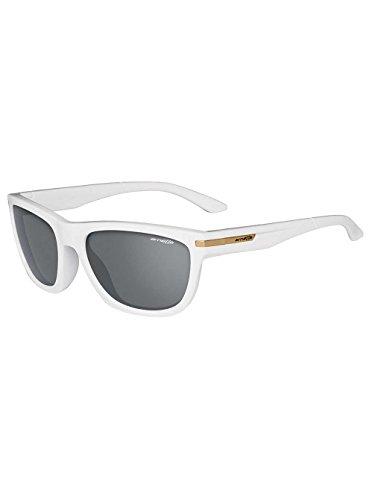Arnette Sunglasses White - Arnette Men's Venkman Sunglasses,White Frame/Grey Lens,one size