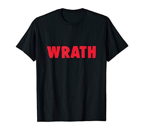 Christian Halloween Shirt Seven Deadly Sins Wrath