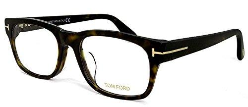( トムフォード ) メガネ アジアンフィット TF-5432 052 TOM FORD tf5432 眼鏡 tomford ウェリントン メンズ べっ甲 ダミーレンズ付き B01N1UABUE