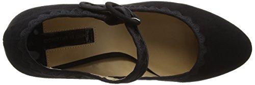 Dorothy PerkinsDotty Scallop Mary Jane, Zapatos de Tacón Mujer Negro (Black)