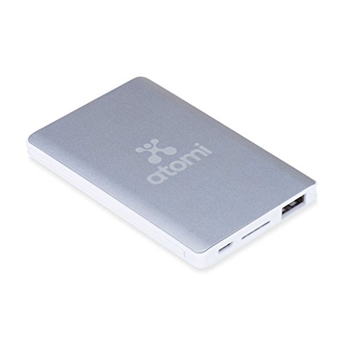 Atomi Charge Card 2500mAh Portable Rechargeable Battery Bank by Atomi