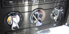 Mustang Billet A/c Knobs - 2