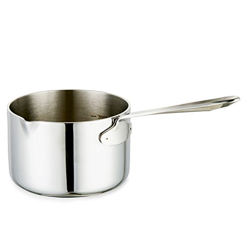 aooyaoo turkish coffee pot stainless steel Butter milk Warmer pot 0.45-Quart Mimi size by Aooyaoo (Image #1)