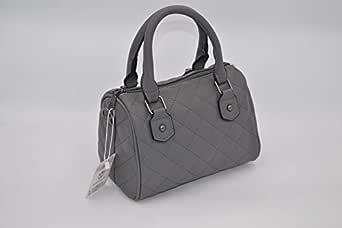 جليمر حقيبة يد صغيرة للنساء , جلد , رصاصي