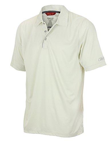 Mens Reebok Prestige Sport Polo, Off White