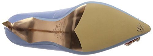 Blue 2 Heels Light Womens TED PEETCH Closed Baker Toe RPqRn6px8