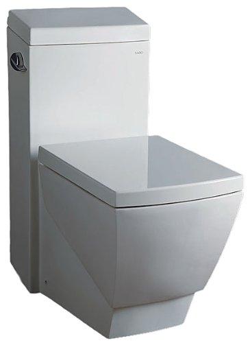 EAGO TB336 High Efficiency Eco Friendly Toilet, 1 Piece