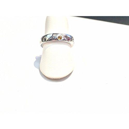 Bague recarlo Femme zg354/B or blanc diamant