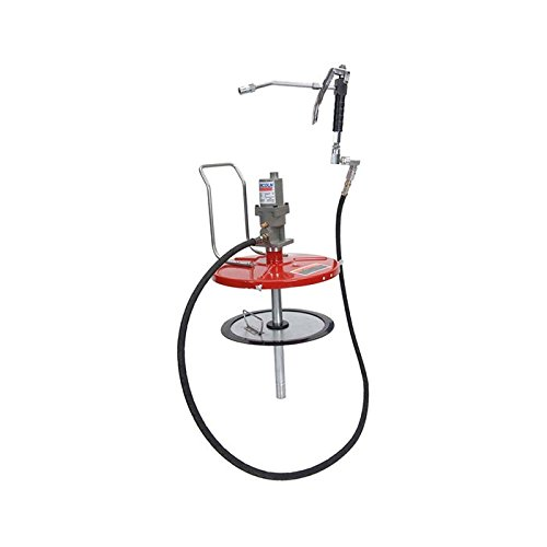 Pump Drum Cover - Model 4489 High Pressure Grease Bucket Pump w/out Dolly For 25-50 Lb Drum (5 ...