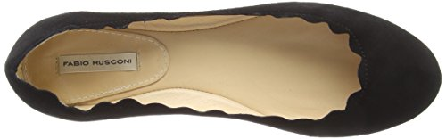 Nero Fabio Toe 001 Women's Ballet Schaftballerinas Black Closed Rusconi Flats B8CrwqxB