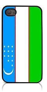 HeartCase Hard Case for Iphone 4 4G 4S (The national flag of Uzbekistan )