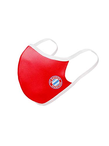FC Bayern München 3er Set Mund Nasen Masken rot weiß schwarz