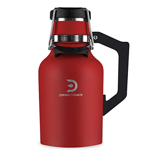 DrinkTanks 32 oz Vacuum Insulated Stainless Steel Beer - Growlers Beer