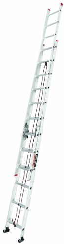 Black and Decker Aluminum Ext. Ladder Type III, 24-Foot, 200 Pound (Ext Type)