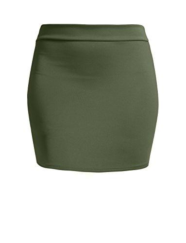 Olive Mini Skirt - 9