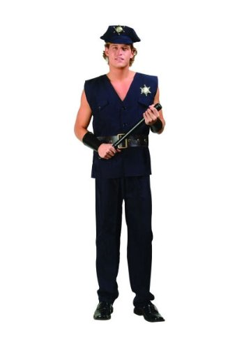 RG Costumes 80466-S Policeman Costume - Size Adult Small 32-34 (Police Uniforms For Sale)