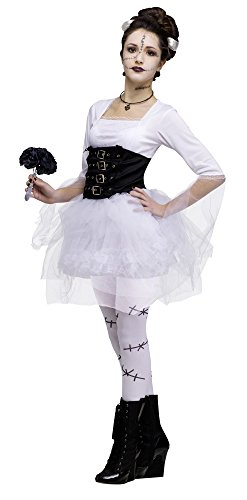 Child Of Frankenstein Costumes Bride (Monster Bride Child Costume -)