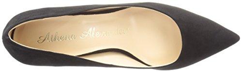 Athena Alexander Womens Athena Suede Black Pump Womens Alexander Dress Teague xEwfqtdC