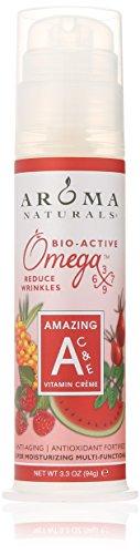 Aroma Naturals Vitamin A plus C and E Vitamin Cream, 3.3 Ounce