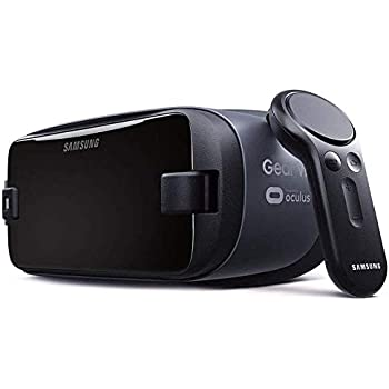 Samsung Gear VR w/Controller 2017/2018 SM-R325 Note9 Ready, for Galaxy Note8, Note5, S9, S8, S7, S6 (International Version)