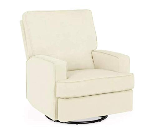 Baby Relax Addison Swivel Gliding Recliner Ivory