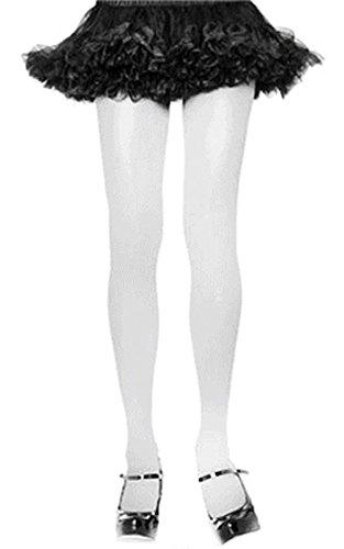 Nylon Tights Hosiery - One Size - Dress Size 6-12 ()