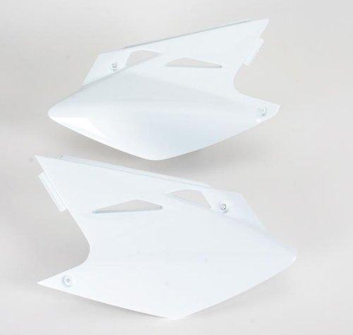 - UFO Plastics Side Panel White for Kawasaki KLX110 2010
