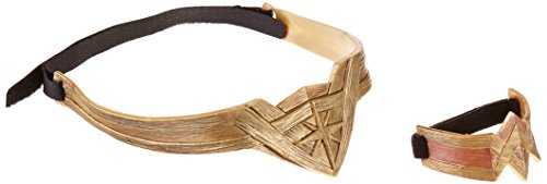 DC Wonder Woman Headdress & Armband Set