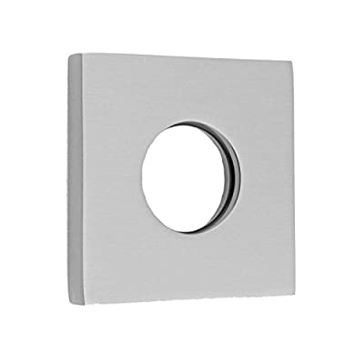 Jaclo 6007-PCH Contemporary Square Escutcheon, Polished Chrome